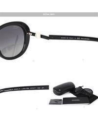 Chanel - Black Sunglasses/glasses - Lyst
