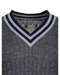 Brunello Cucinelli - Gray Grey Sweater for Men - Lyst