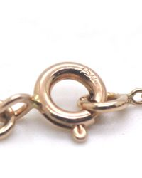 Hermès - Metallic 1p Diamond Design Necklace Necklace 18k Pink Gold/diamond - Lyst