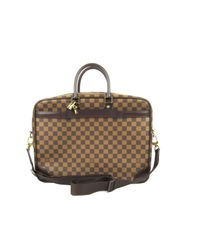 Louis Vuitton - Brown Porte Cocuments Voyage Gm Business Bag Damier Graphite N41123 - Lyst