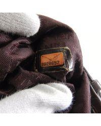 Chanel - Purple Leather Handbag Logo Motif - Lyst
