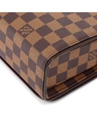 Louis Vuitton - Brown Tribeca Long Damier Ebene Canvas Shoulder Bag - Lyst
