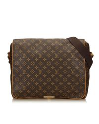Lyst - Louis Vuitton Monogram Abbesses Shoulder Bag in Brown b537af275851e