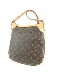 0eaaf343b2e Louis Vuitton Monogram Canvas Shoulder Bag M56390 Odeon Pm in Brown ...