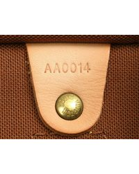 Louis Vuitton - Brown Speedy 30 Handbag Monogram Canvas M41526 - Lyst