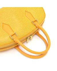 Louis Vuitton - Jasmin Yellow Epi Leather Hand Bag - Lyst