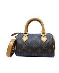 5d0269ad8b66 Louis Vuitton. Women s Brown Authentic Monogram Mini Speedy Hand Bag ...