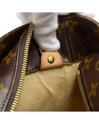 Louis Vuitton - Brown Luco Monogram Cavas Large Tote Shoulder Bag - Lyst