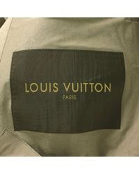 Louis Vuitton - Gray Stand Fall Collar Coat Grey 44 for Men - Lyst