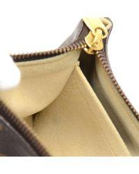 Louis Vuitton - Brown Milla Pm Monogram Canvas Chain Strap Pouch - Lyst