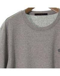 Louis Vuitton - Gray T Shirt Grey Xl for Men - Lyst