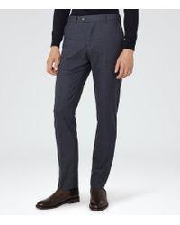 Reiss   Blue Harry Modern Fit Suit Trousers for Men   Lyst