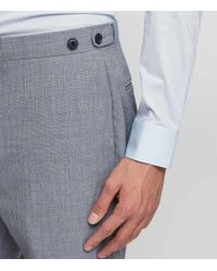 Reiss Blue Rover T - Modern Fit Wool Trousers for men