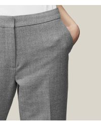 Reiss - Gray Austin Trouser - Lyst