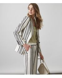 Reiss - White Rodeo Jacket - Lyst