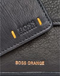 BOSS Orange - City 4cc Coin Holder Black Wallet for Men - Lyst