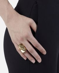Jennifer Fisher - Metallic Crinkle Ring - Lyst
