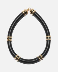 Lizzie Fortunato | Double Take Necklace In Black | Lyst