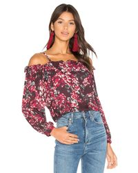 Parker - Red Zola Blouse - Lyst