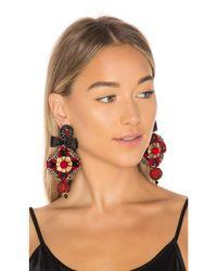 Ranjana Khan - Red Pendant Earring - Lyst