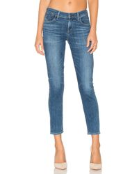 Citizens of Humanity - Blue Avedon Ankle Ultra Skinny - Lyst
