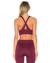 Free People - Red B Natural City Slicker Sports Bra - Lyst