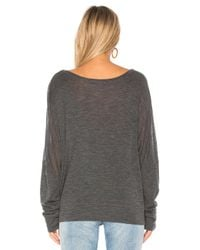 Vince - Gray Boatneck Sweater - Lyst