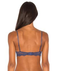 Only Hearts | Blue So Fine Lace Underwire Bra | Lyst