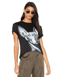05d3d76e366 Lyst - Kendall + Kylie Majestic Norman Tee in Black