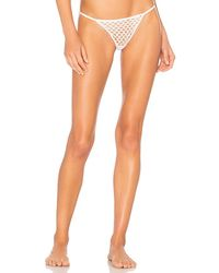 Only Hearts - White Nothing But Net String Bikini - Lyst