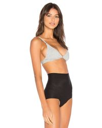 Free People - Gray Stop Me Soft Bra - Lyst