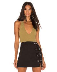 Motel Green Game Changer Bodysuit