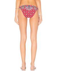 Nanette Lepore - Red Pretty Tough Vamp Bikini Bottom - Lyst