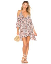 Free People | Pink Monarch Mini Dress | Lyst