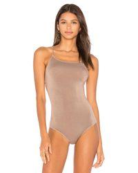 NYTT - Multicolor Low Back Strappy Bodysuit - Lyst