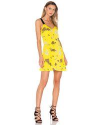 A.L.C. - Yellow Serena Dress - Lyst