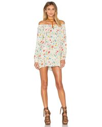 American Vintage - Multicolor Alys Long Sleeve Tunic Dress - Lyst
