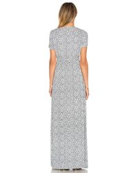 American Vintage - Gray Yacqui Maxi Dress - Lyst