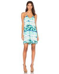 Amour Vert - Blue Krista Mini Dress - Lyst