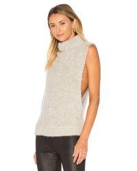 Autumn Cashmere | Multicolor Boucle Funnel Neck Sweater | Lyst