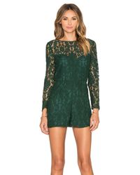 BB Dakota | Green Dasha Romper | Lyst