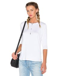 Benjamin Jay - White Switch Up Top - Lyst