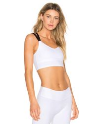 Beyond Yoga - White Live Free Or Tie Hard Bralet - Lyst