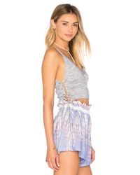 BCBGeneration - Blue Crop Top - Lyst