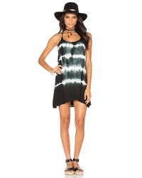 Bishop + Young - White Tie Dye Strappy Dress - Lyst