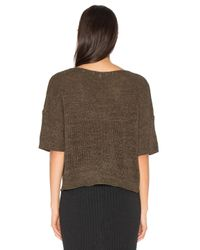 Bella Luxx - Multicolor Tape Yarn Box Sweater - Lyst