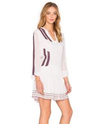 Chloe Oliver - White Dancin In The Street Dress - Lyst
