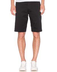 DIESEL - Black Chi Pitt Shorts for Men - Lyst