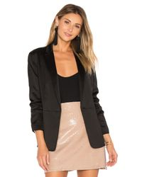 Elizabeth and James | Black Lainey Blazer | Lyst