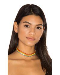 Elizabeth Cole | Multicolor Steele Necklace | Lyst